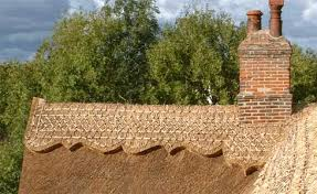 thatching and decking