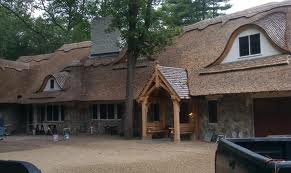 thatching roofing