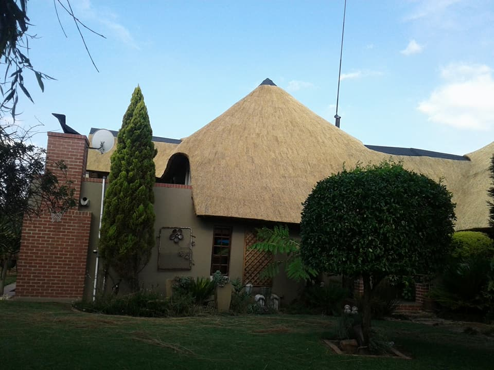 thatched roofing